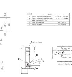 mitsubishi heavy industries air conditioning srk25zsp s wall heat pump 2 5kw 9000btu install [ 1494 x 694 Pixel ]